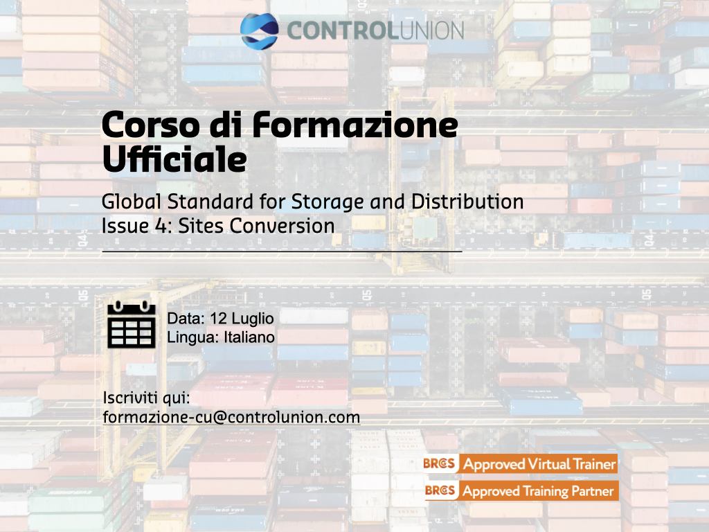 Global Standard for Storage and Distribution